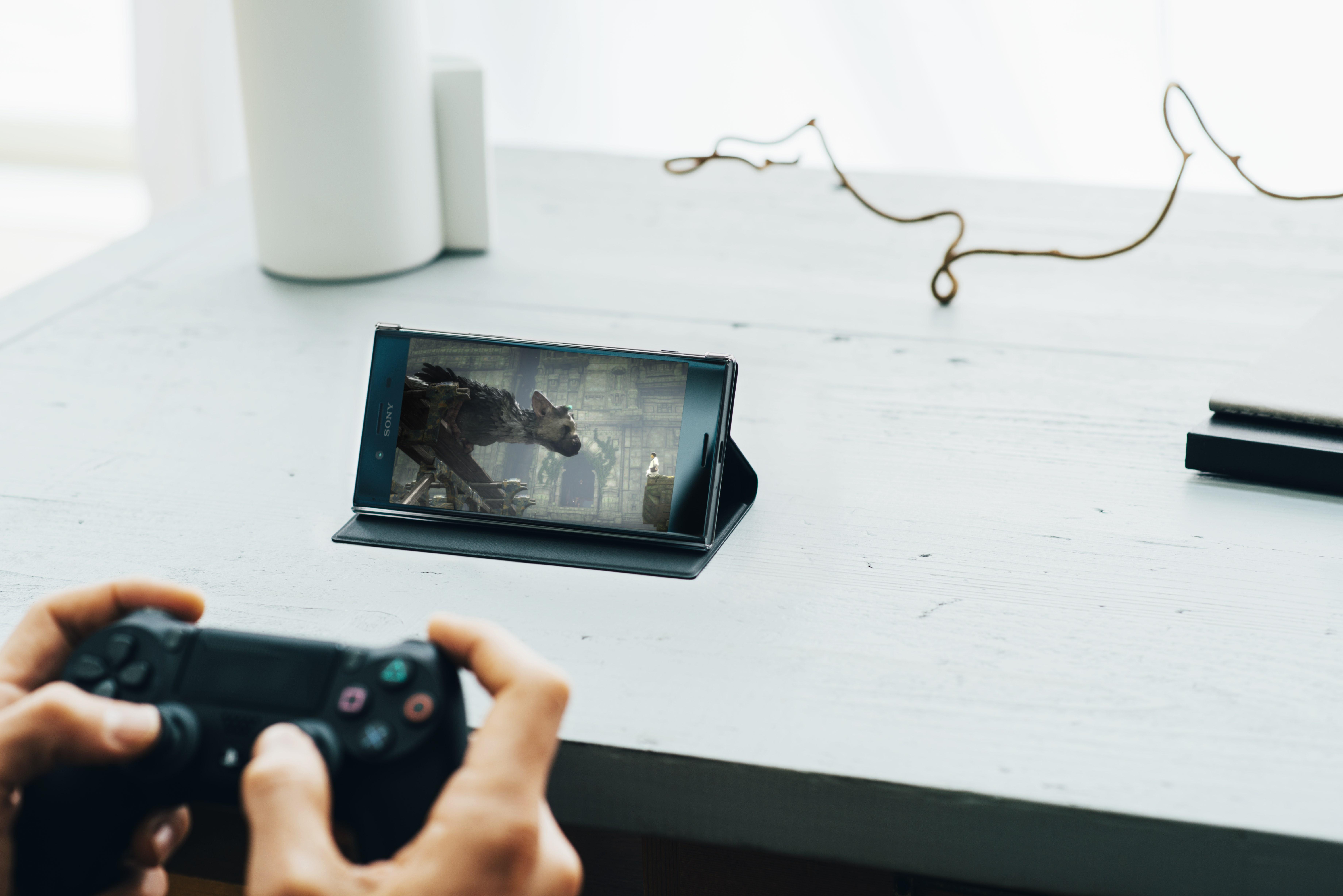 Du kan koble Xperia XZ til en PlayStation 4.