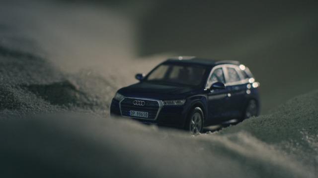 Audi gjør sandkassen virtuell.