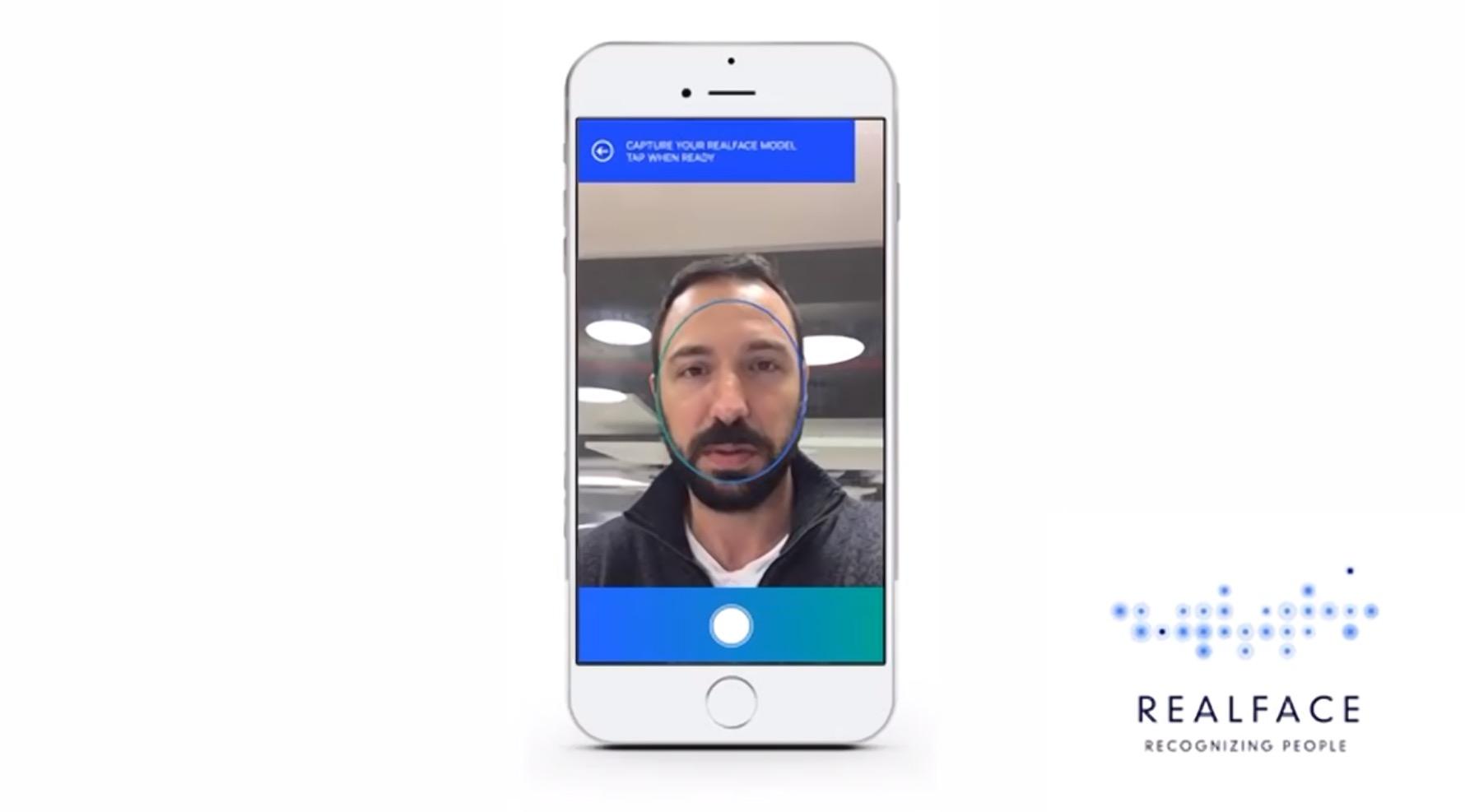 RealFace jobber med ansiktsgjenkjenning. Nå er de kjøpt opp av Apple.RealFace jobber med ansiktsgjenkjenning. Nå er de kjøpt opp av Apple.