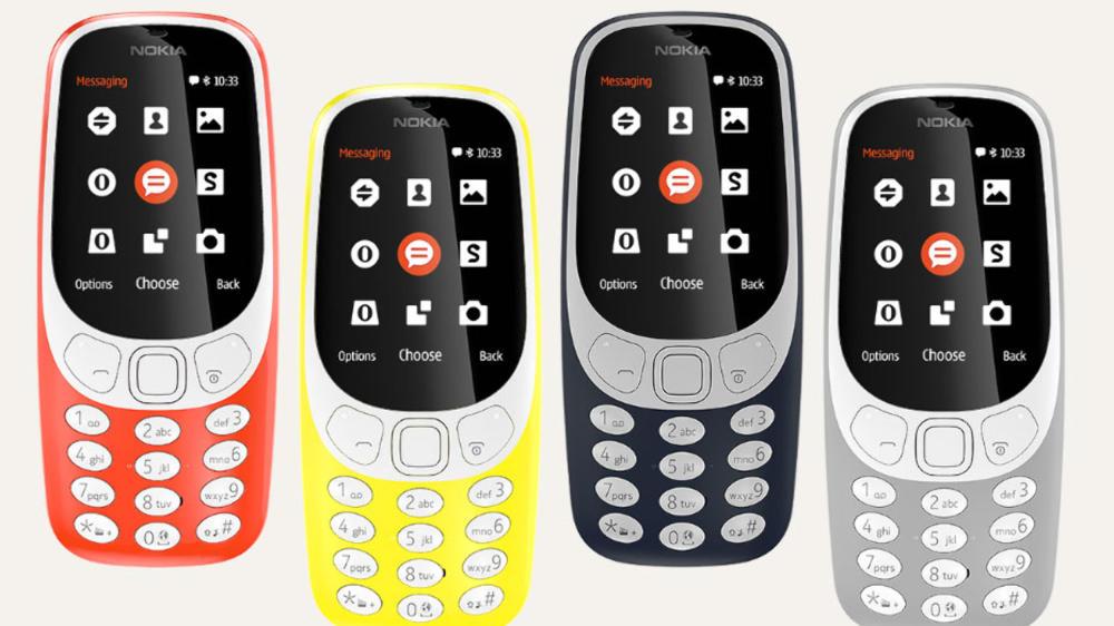 Dette er nye Nokia 3310.
