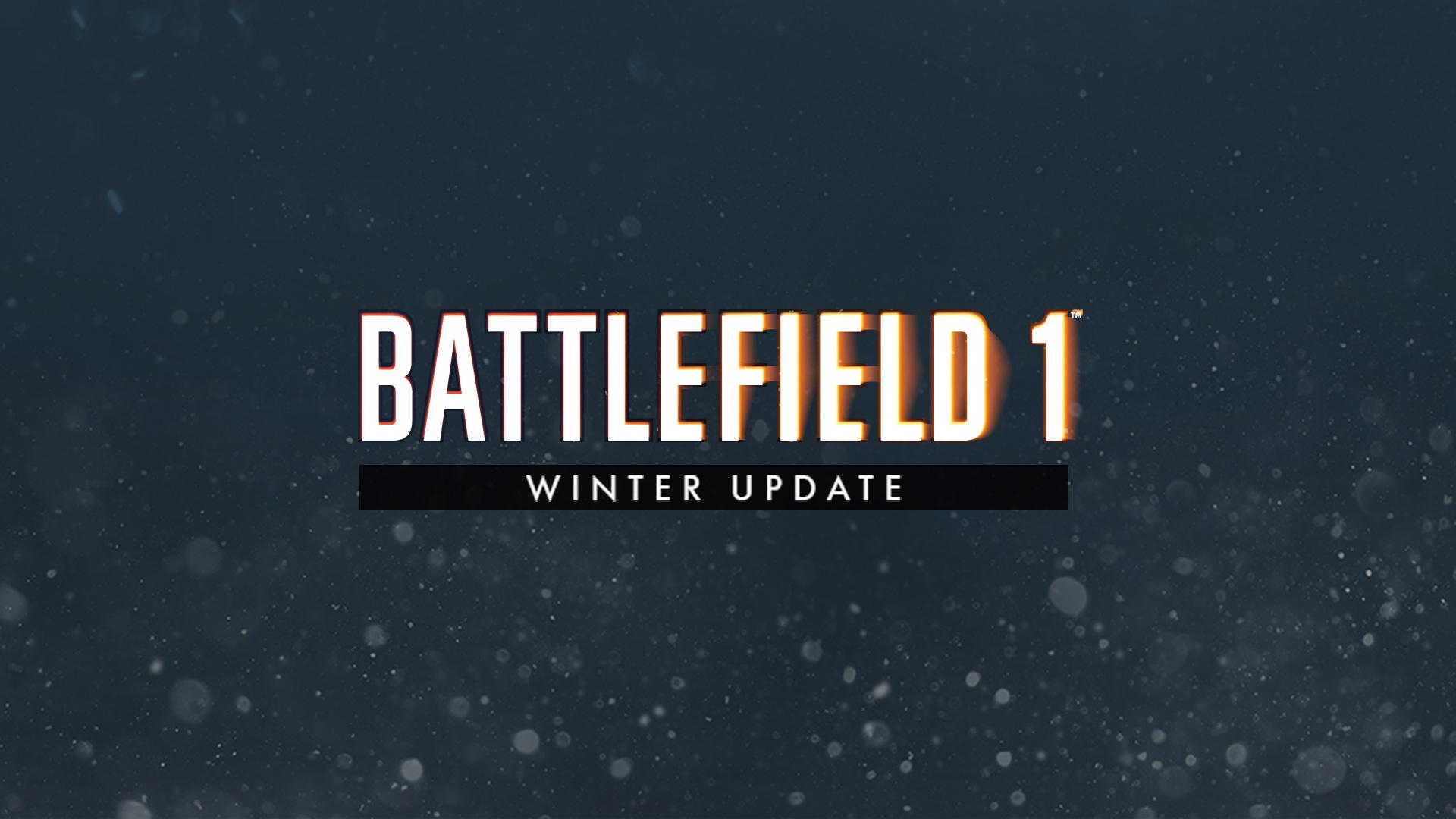 Vinter-oppdateringen til Battlefield 1 er her.