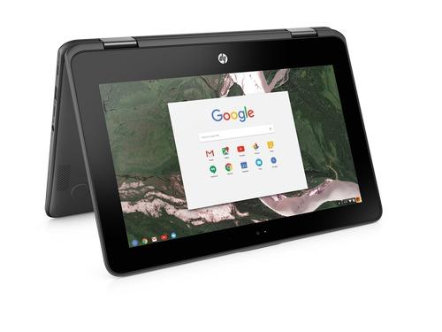 Google feirer skolesuksessen ved å annonsere HP Chromebook x360 11 G1 Education Edition, som er spesiallaget for å takle røffe skoledager og kommer i midten av april.