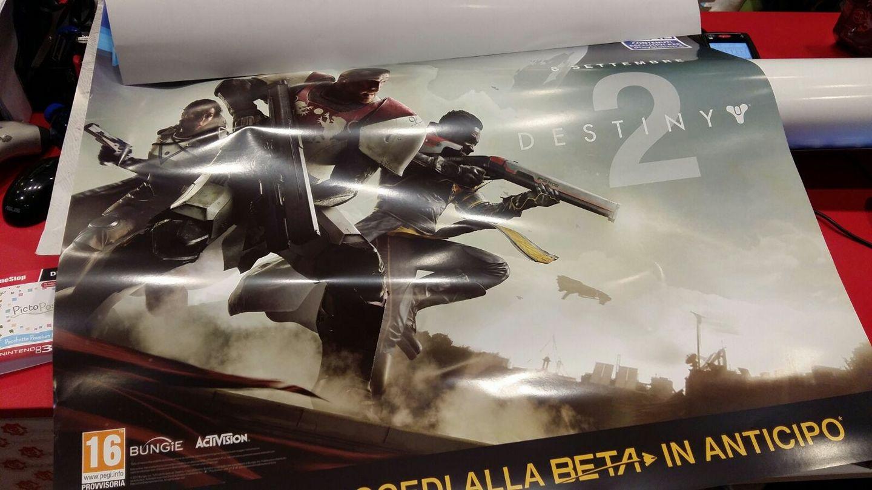 Denne plakaten avslører lanseringsmåneden til Destiny 2.