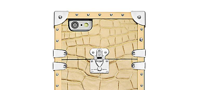 Louis Vuittons deksel i gyllent krokodilleskinn setter deg tilbake 44 000 kroner.