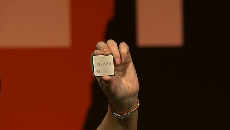 AMD går etter Intel med Ryzen. Her i forbindelse med lanseringen av Ryzen 7.