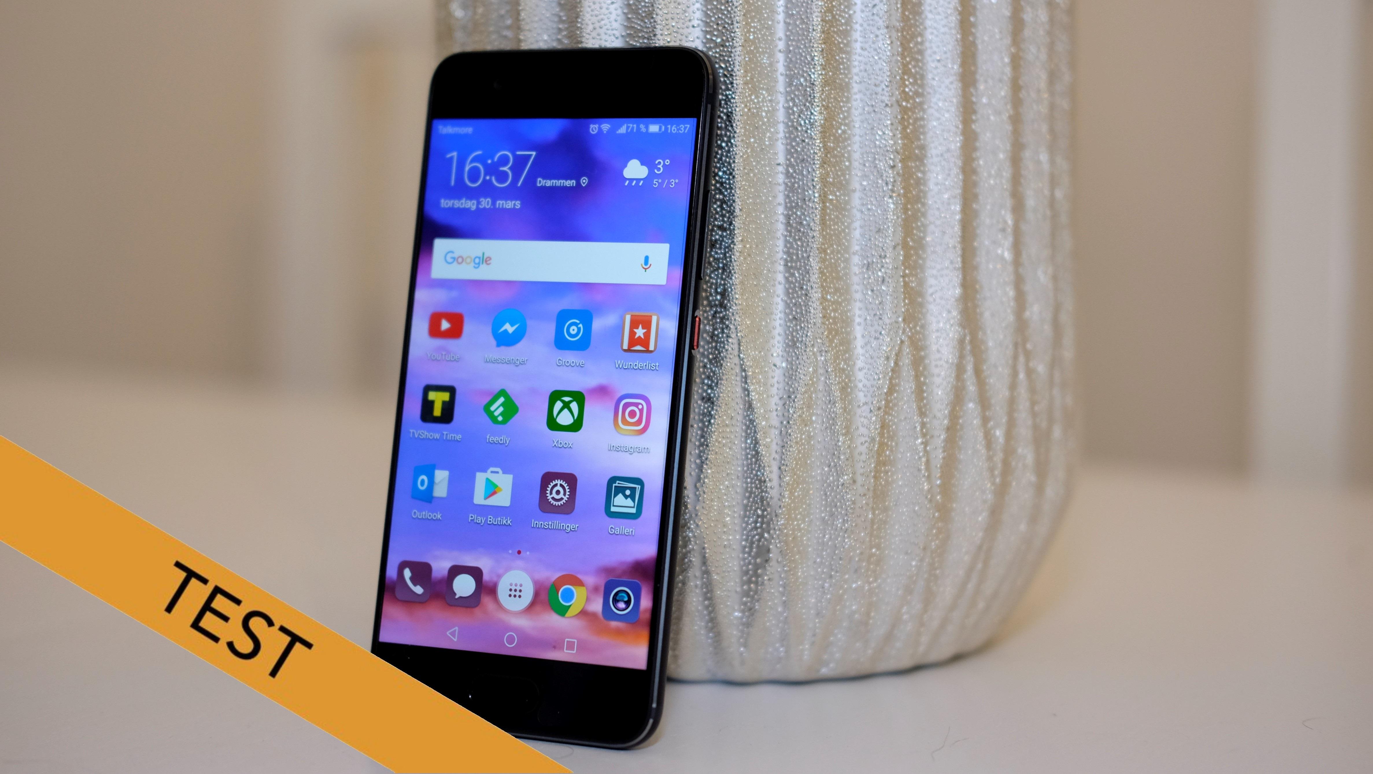Huawei P10 er ganske solid smarttelefon.