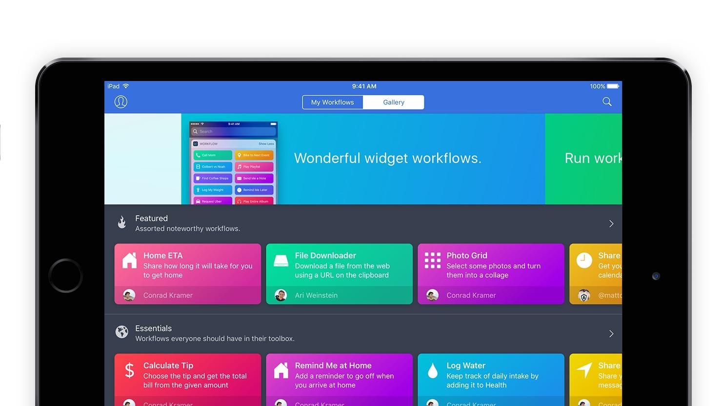 Apple kjøper opp selskapet bak appen Workflow og gjør den gratis.