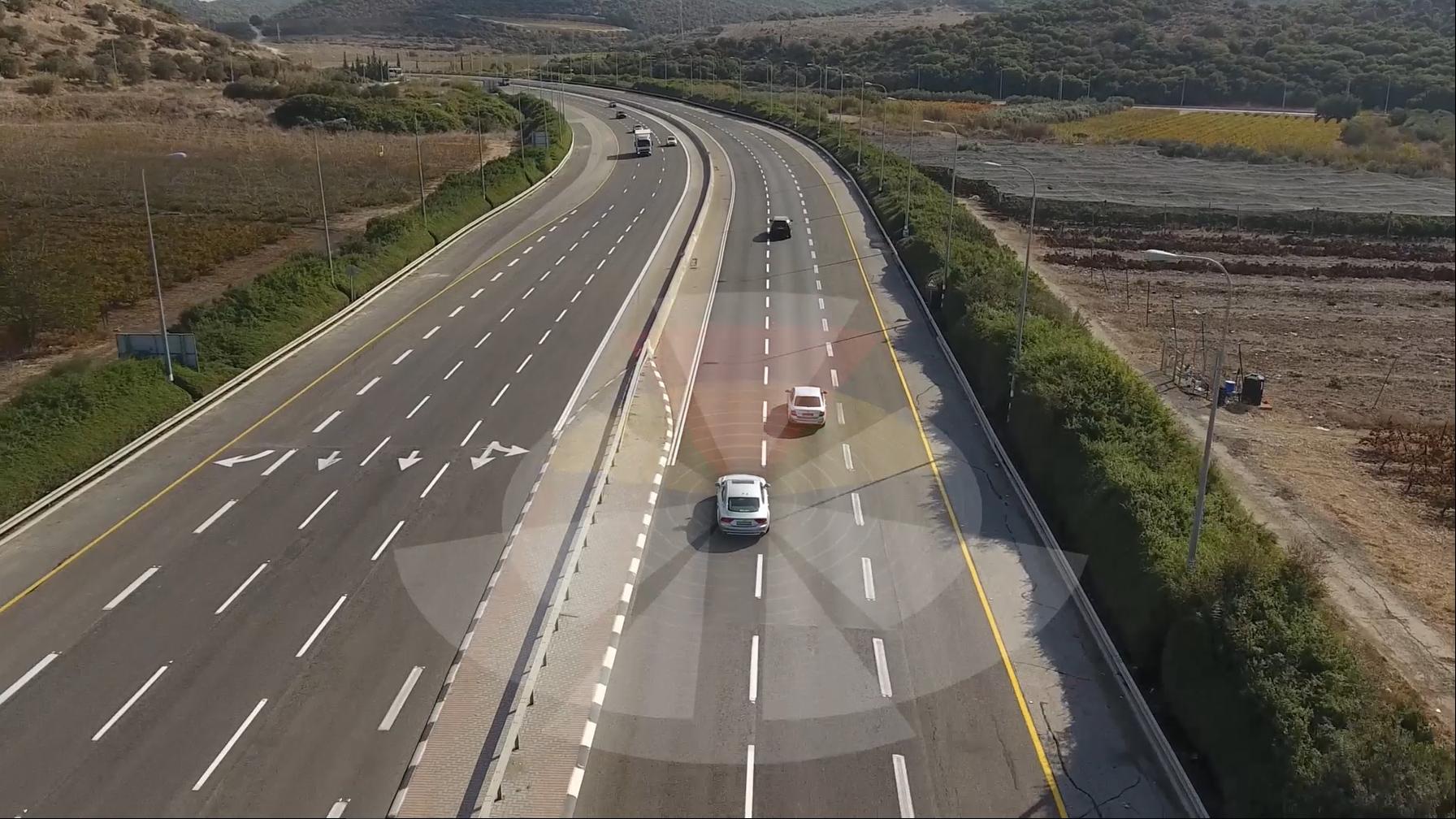 MobilEye utvikler teknologi for autonom kjøring.