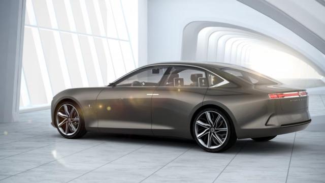 Pininfarina H600 omtales som en luksussedan.