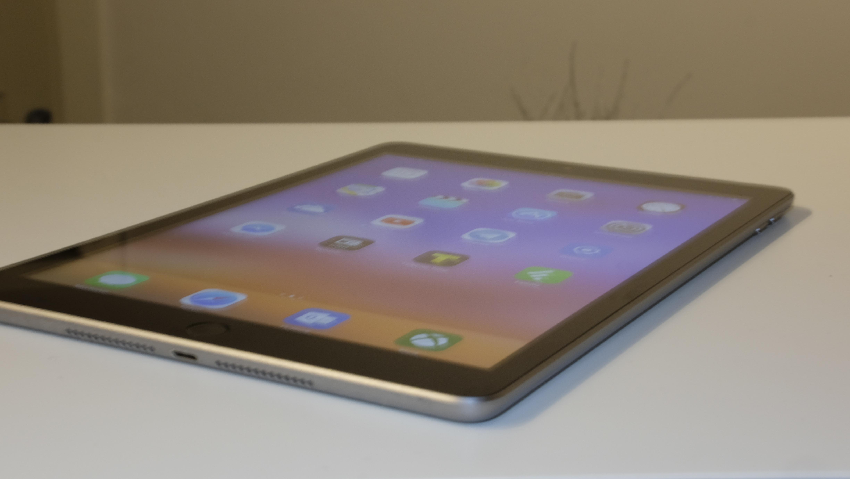 Nye iPad har en svært god skjerm.