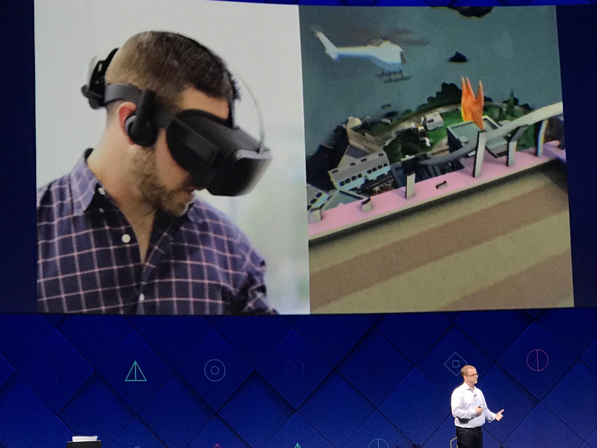 Facebook jobber videre med VR også, vedå skape avansert programvare som gjør det mulig å koble VR-headsettet fra PC-en.