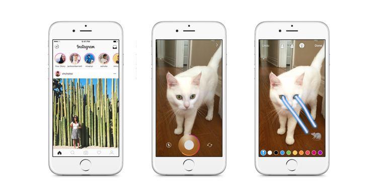 Instagram Stories har passert Snapchat i antall aktive brukere.
