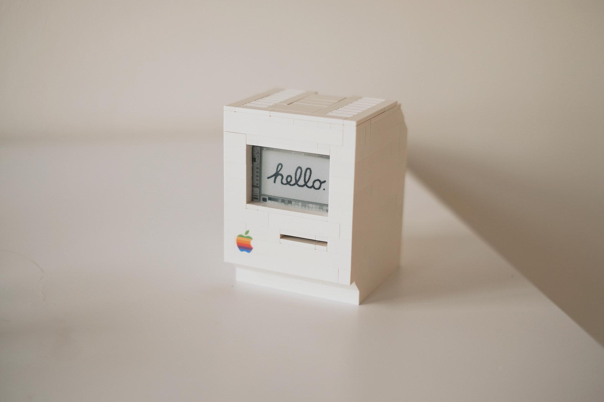Her er Lego-Mac-en til Jannis Hermanns.