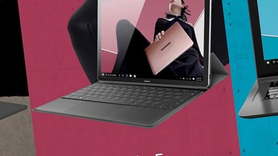 Huawei står klare til å lansere tre nye PC-er.