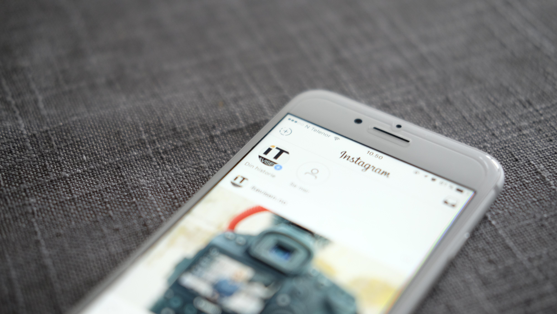 Instagram gjør det mulig å dele apper via mobilsiden.