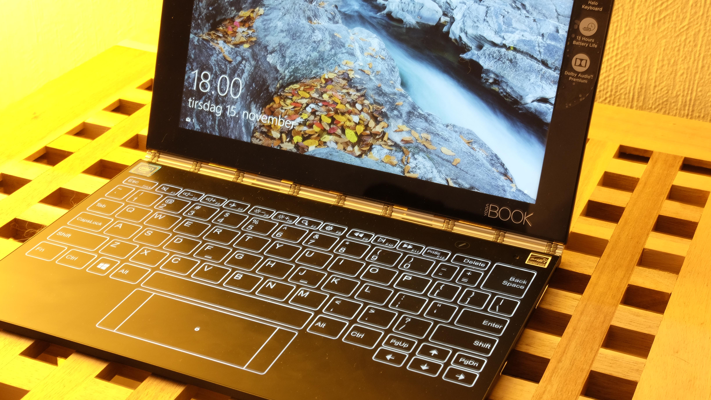 Yoga Book er en av Windows 10-PC-ene vi gjerne skulle sett med ARM.
