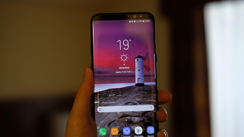 Samsung Galaxy S8+ er en fantastisk smarttelefon.