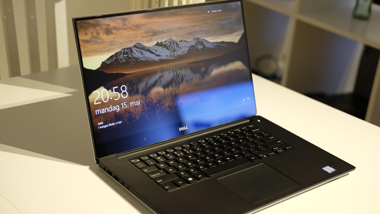 XPS 15 har en helt nydelig skjerm.