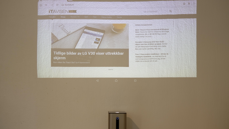 Xperia Touch er et av de mest spennende produktene vi har hatt inne på testbenken.