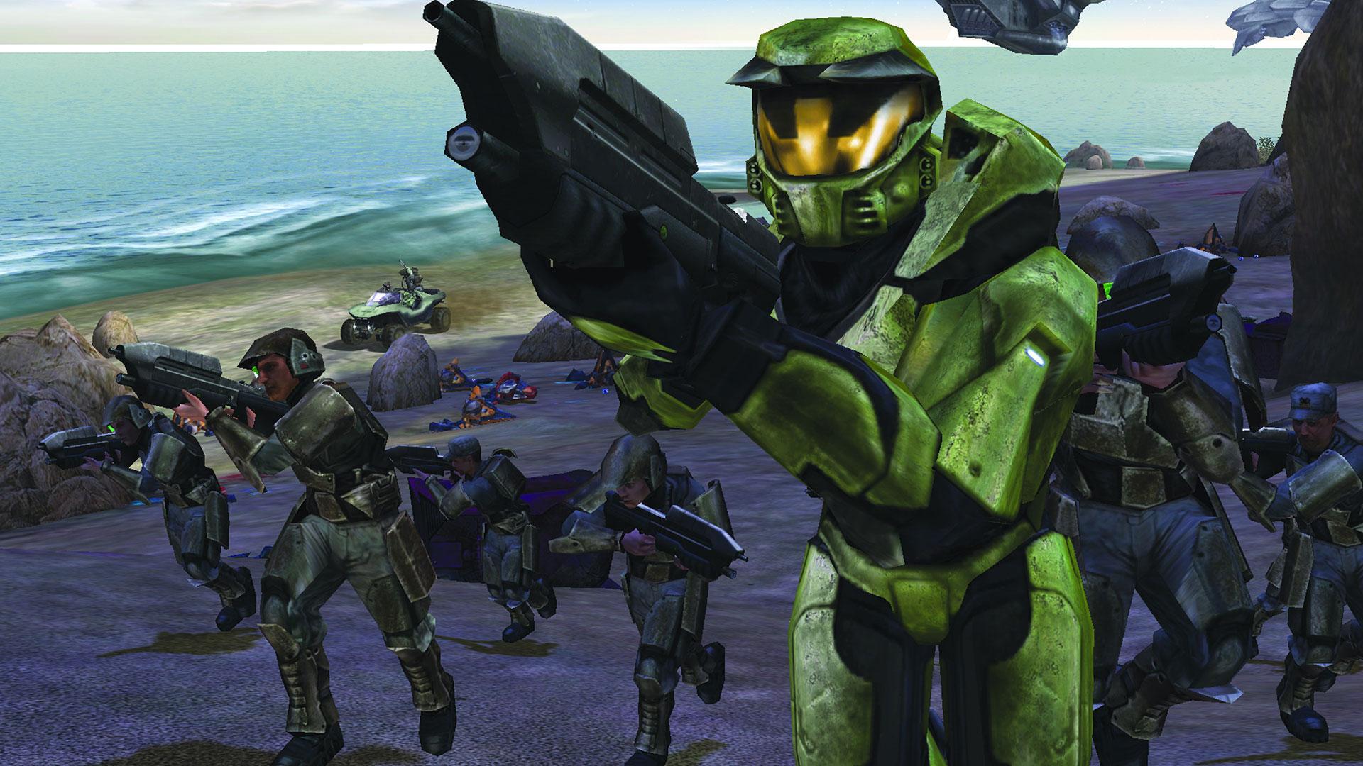 Microsoft var ikke spesielt begeistret for Halo-navnet og la til Combat Evolved.