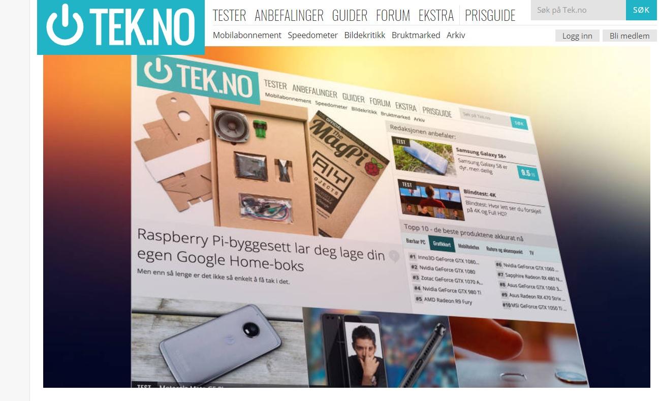 VG sluker Tek.no, teknologiportalen som ble kjøpt av Teknisk Ukeblad for to år siden.
