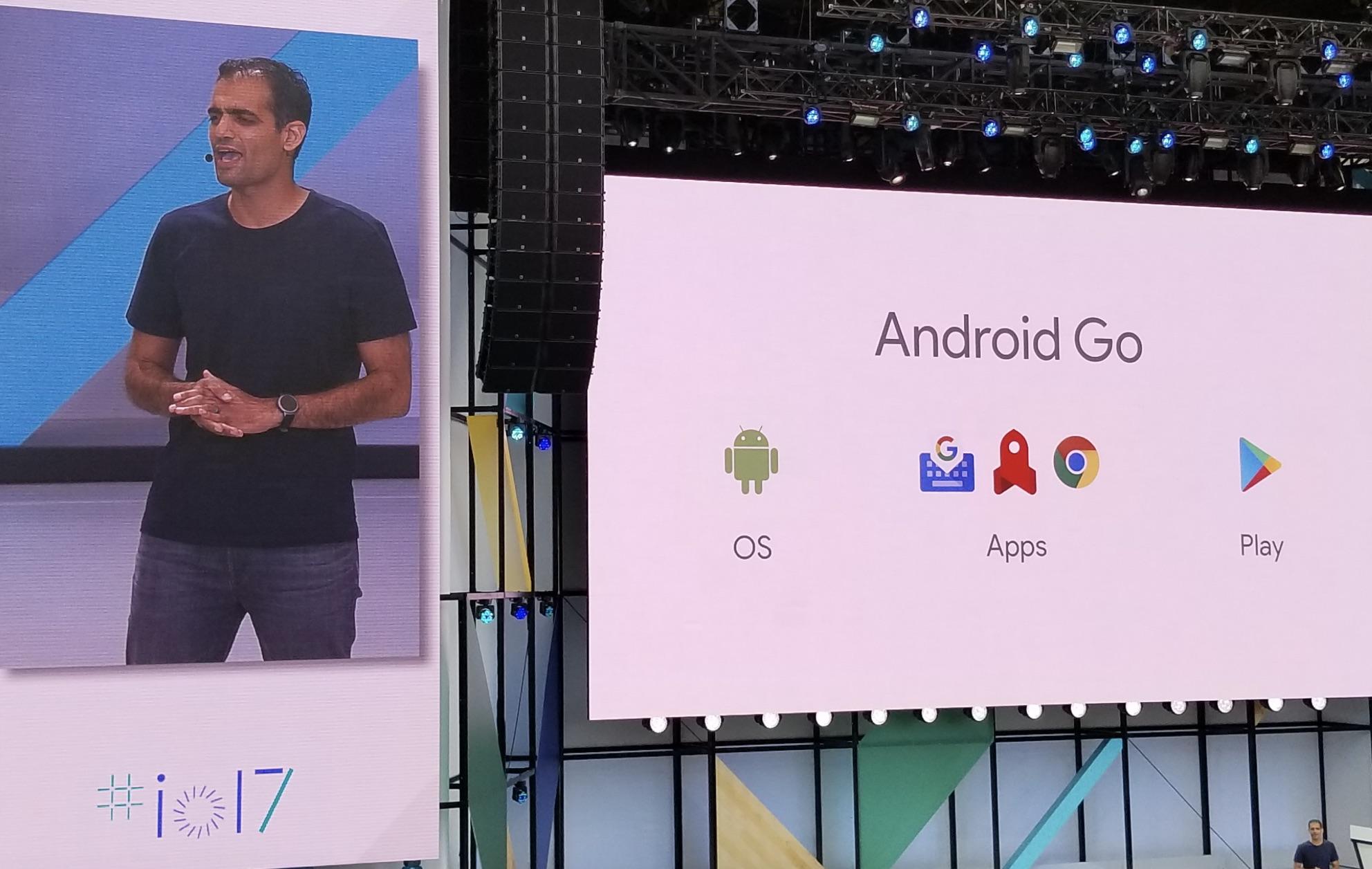 Android Go er nå annonsert, og er en plattform for å utvikle billig-mobiler med 1GB RAM.