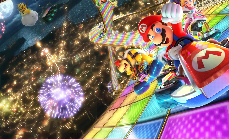 Mario Kart 8 Deluxe satte ny rekord for største salg på lanseringsdagen av en Mario Kart-tittel.