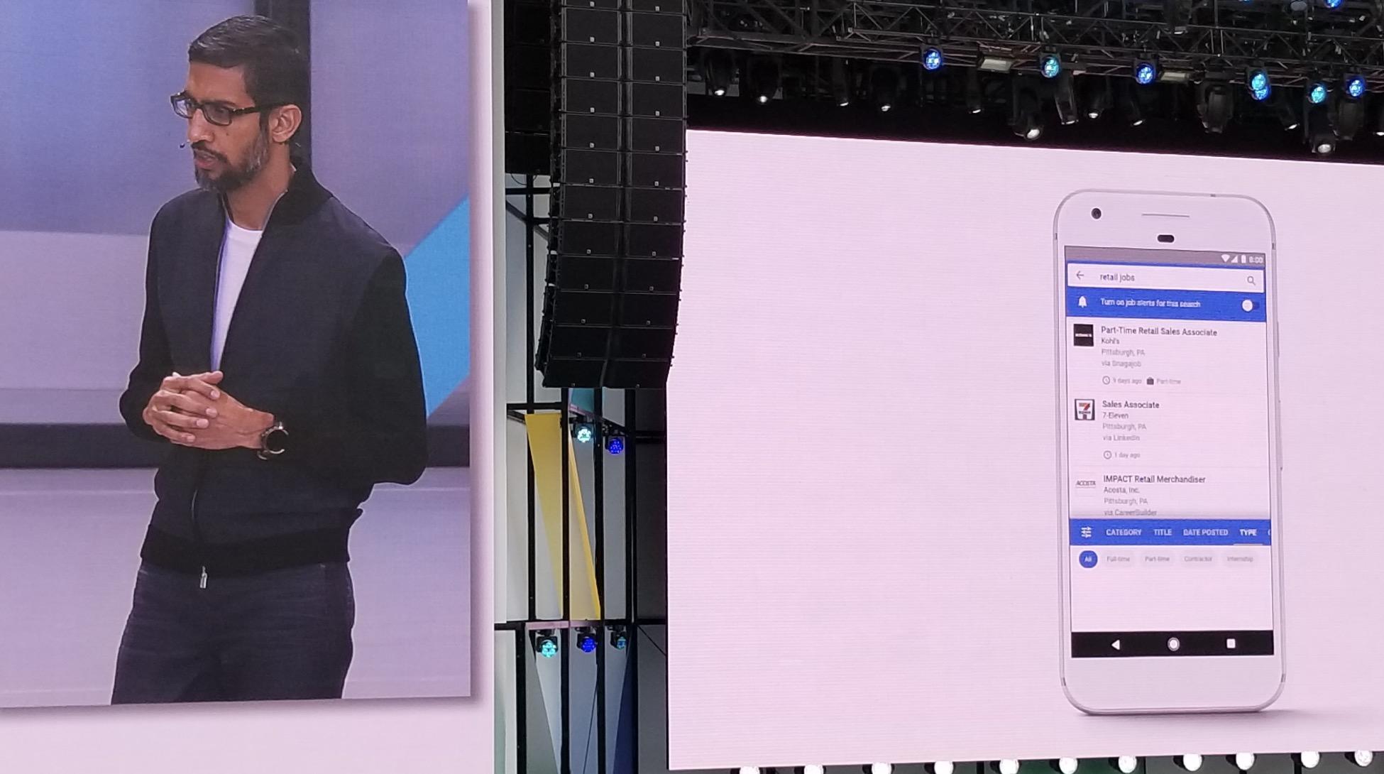 Googles lanserer jobbsøk i samarbeid med blant annet LinkedIn.
