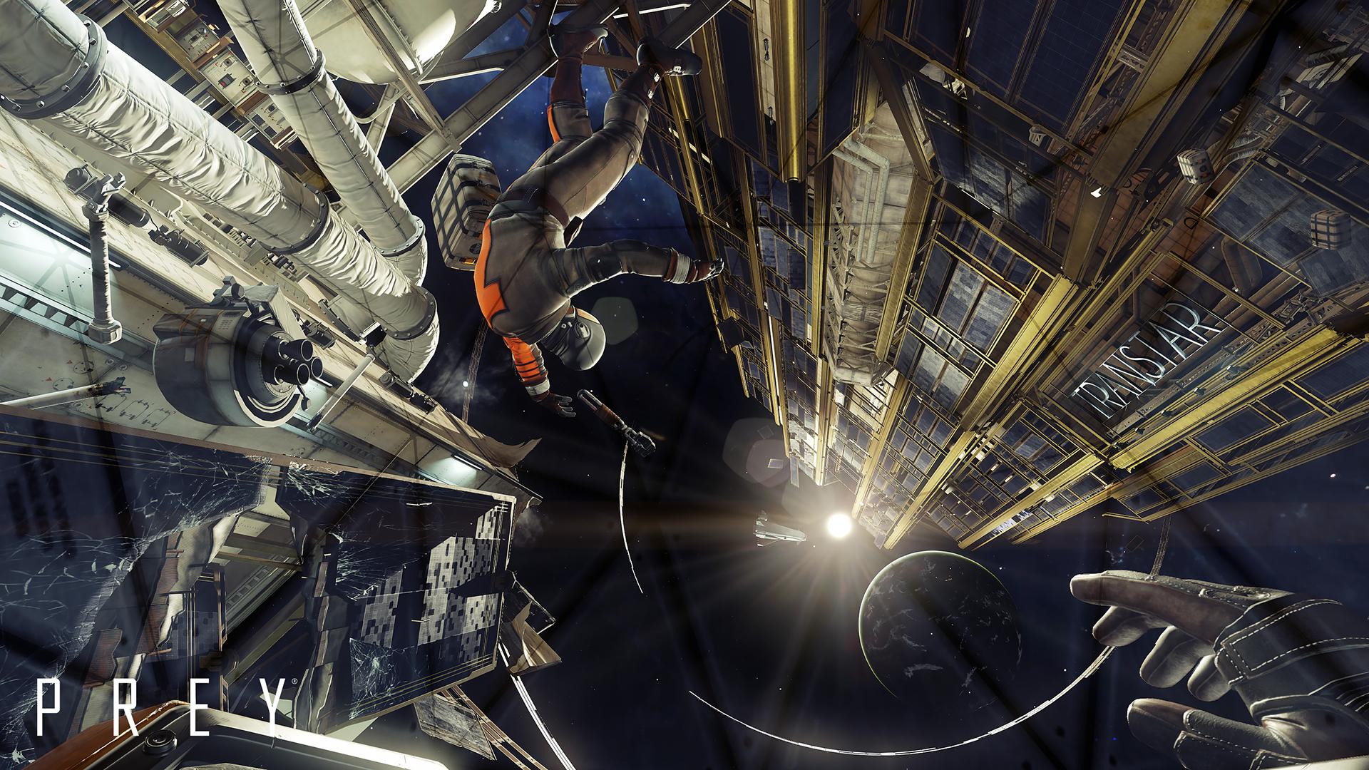 Du kan faktisk dra ut i rommet og sveve til andre deler av romstasjonen.