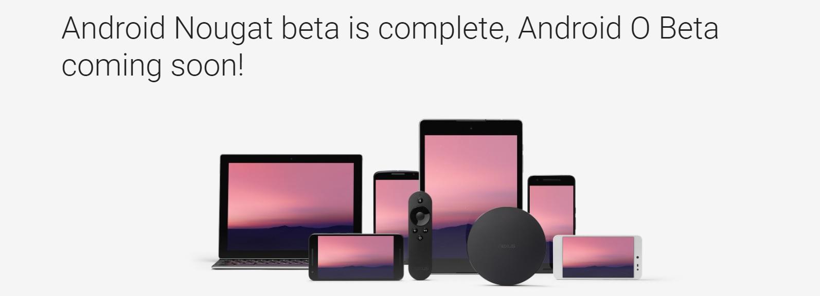 Om ikke mange ukene lanseres Android O-betaen.