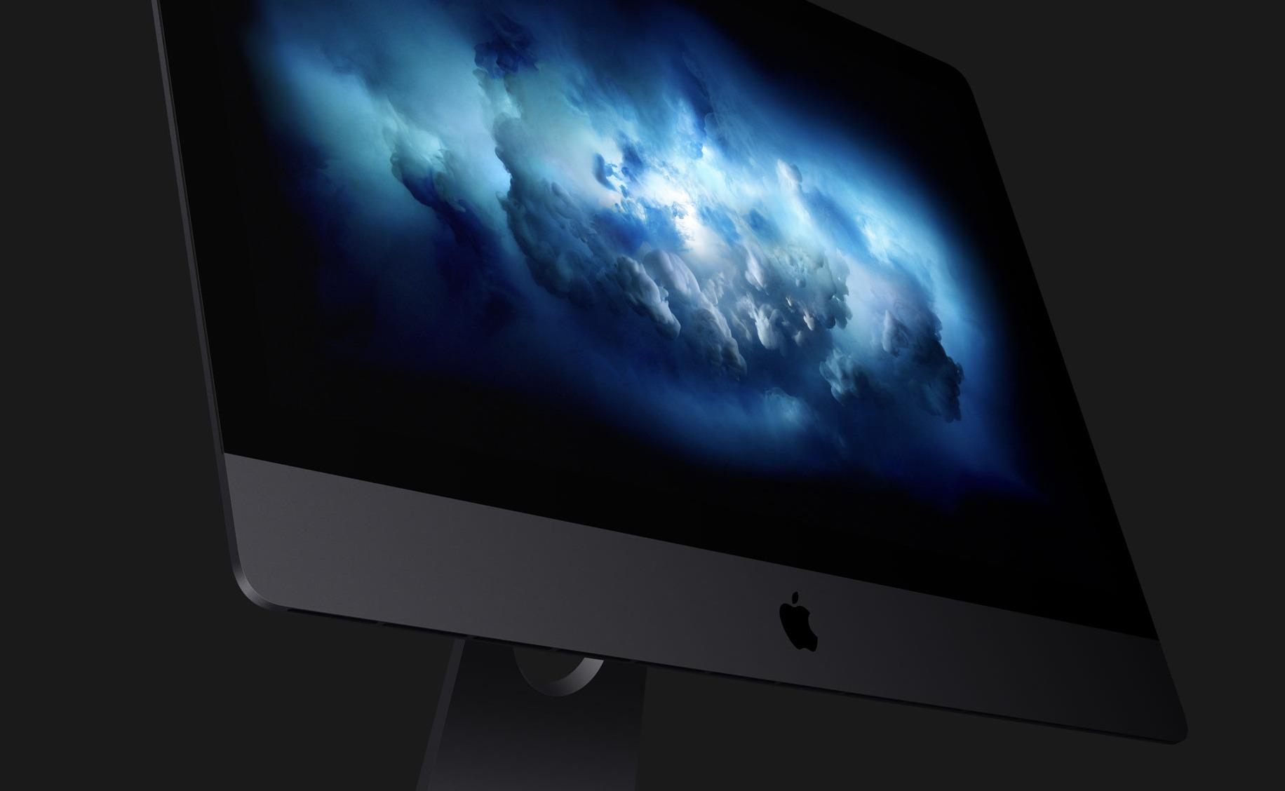 I dag presenterte Apple nye iMac Pro som kommer i desember. Startpris er på rundt 40 000 kroner. Bildet er av de eksisterende iMac-modellene.
