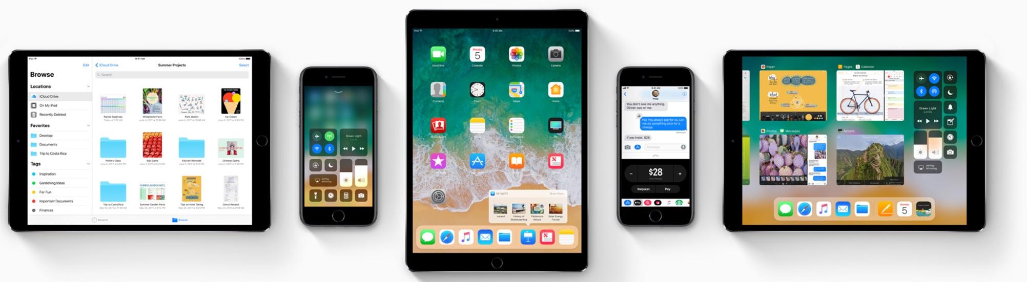 iOS 11 er en gigantisk oppgradering for iPads.