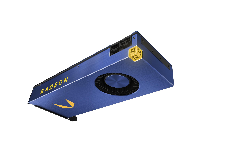 Radeon Vega FE blir tilgjengelig i disse dager.