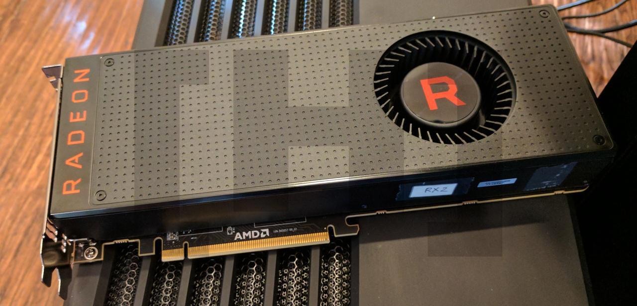RX Vega skal konkurrere mot Nvidia GTX 1080.