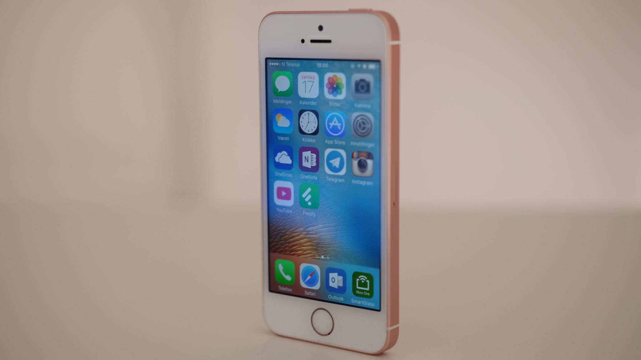 Jobber Apple med en ny iPhone SE?