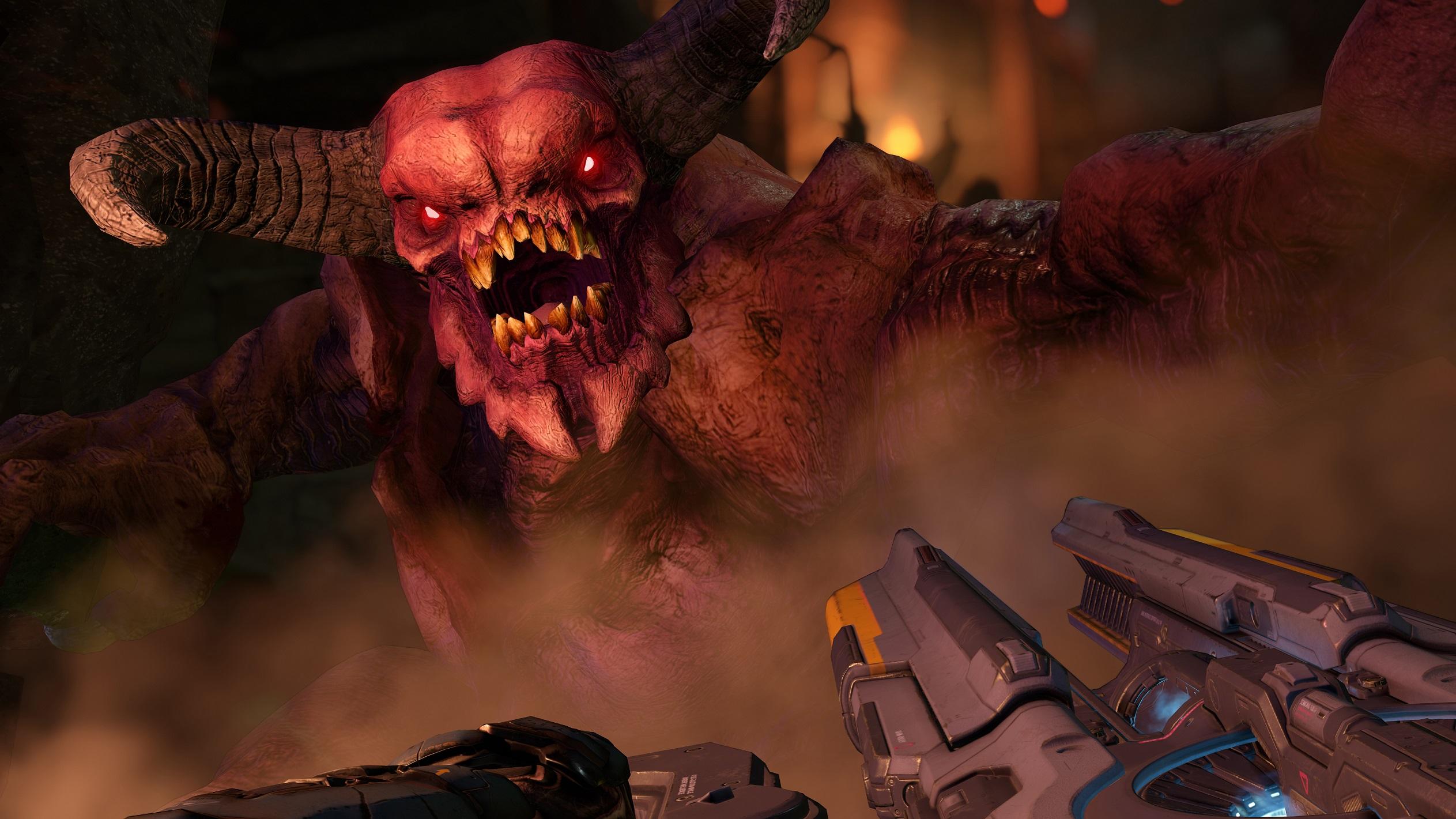 Den nye Doom-oppdateringen heter passenende nok Update 6.66.
