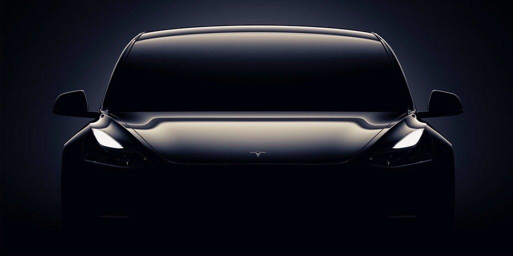 Nå skjer det: Nå kan du se de første kundene motta Tesla Model 3.