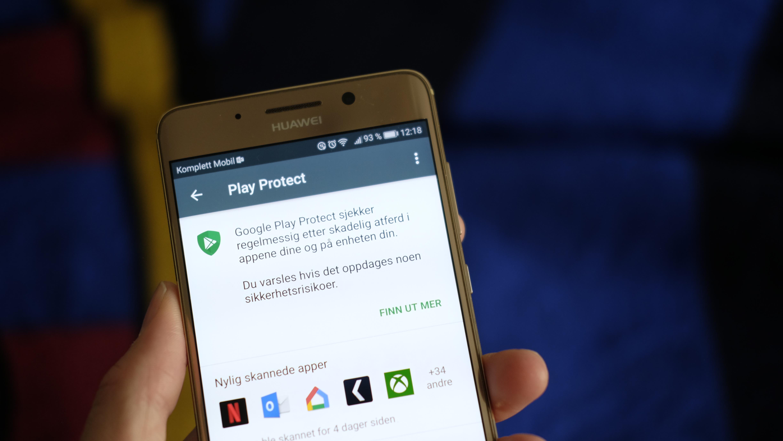 Play Protect ruller ut til Android-enheter.