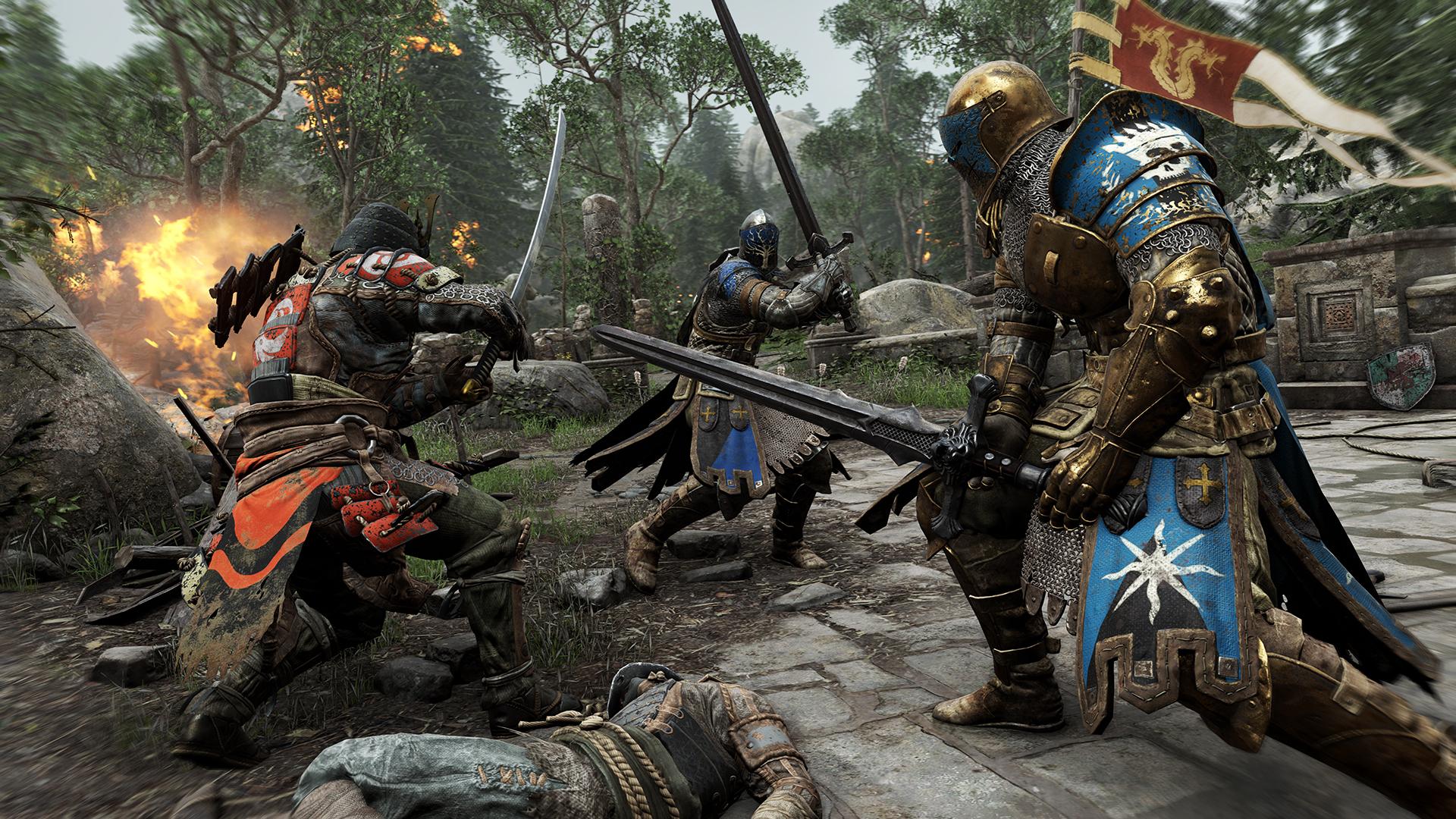 For Honor har blir kritisert for en rekke forhold, men Ubisoft nekter for at det er få som spiller det.