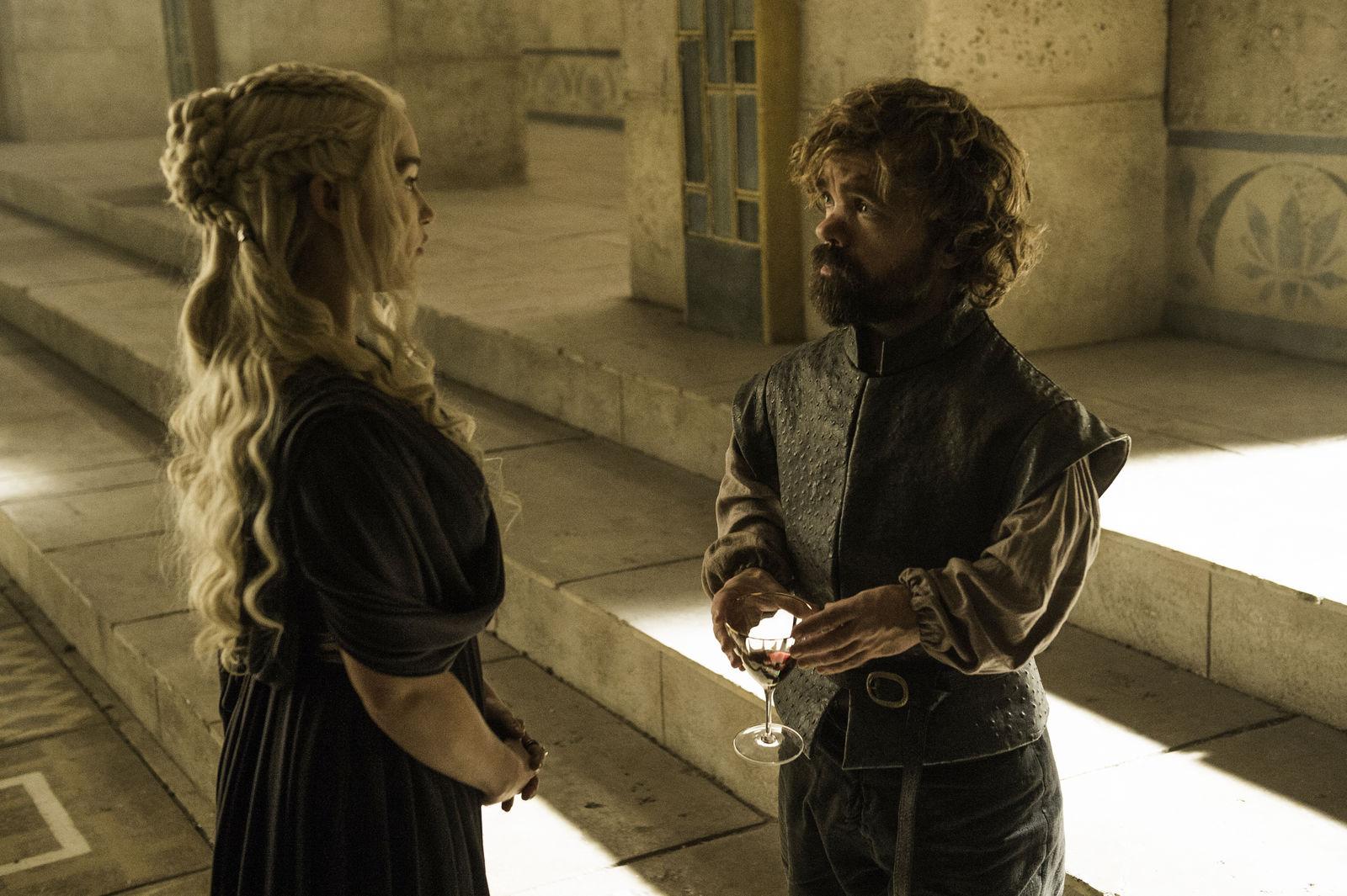Daenerys Targaryen og Tyrion Lannister er populære skikkelser i Game of Thrones-serien.