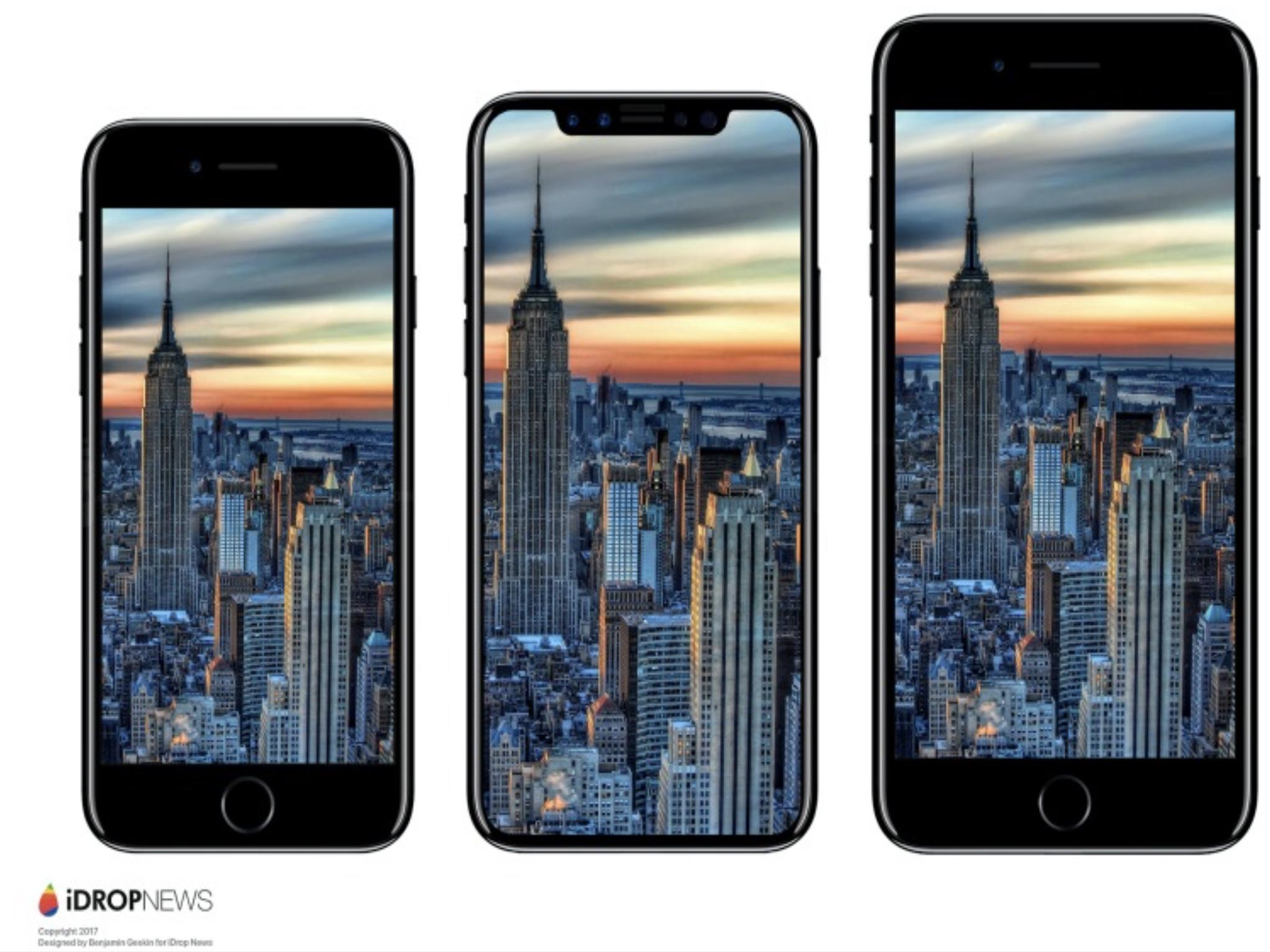 Slik blir trolig iPhone 8 seende ut, og som bekreftet av Apple trolig to ganger allerede.