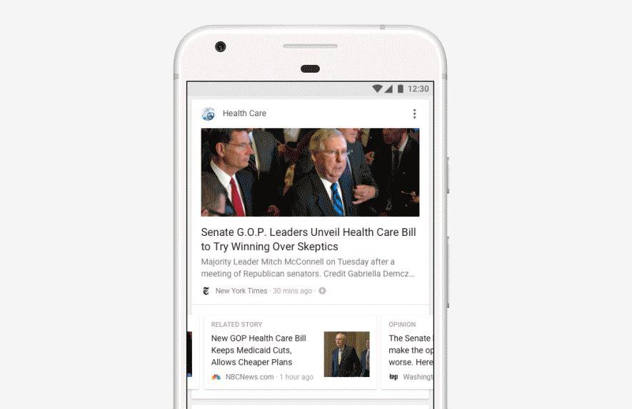 Google slipper en ny oppdatering for mobil-appen.