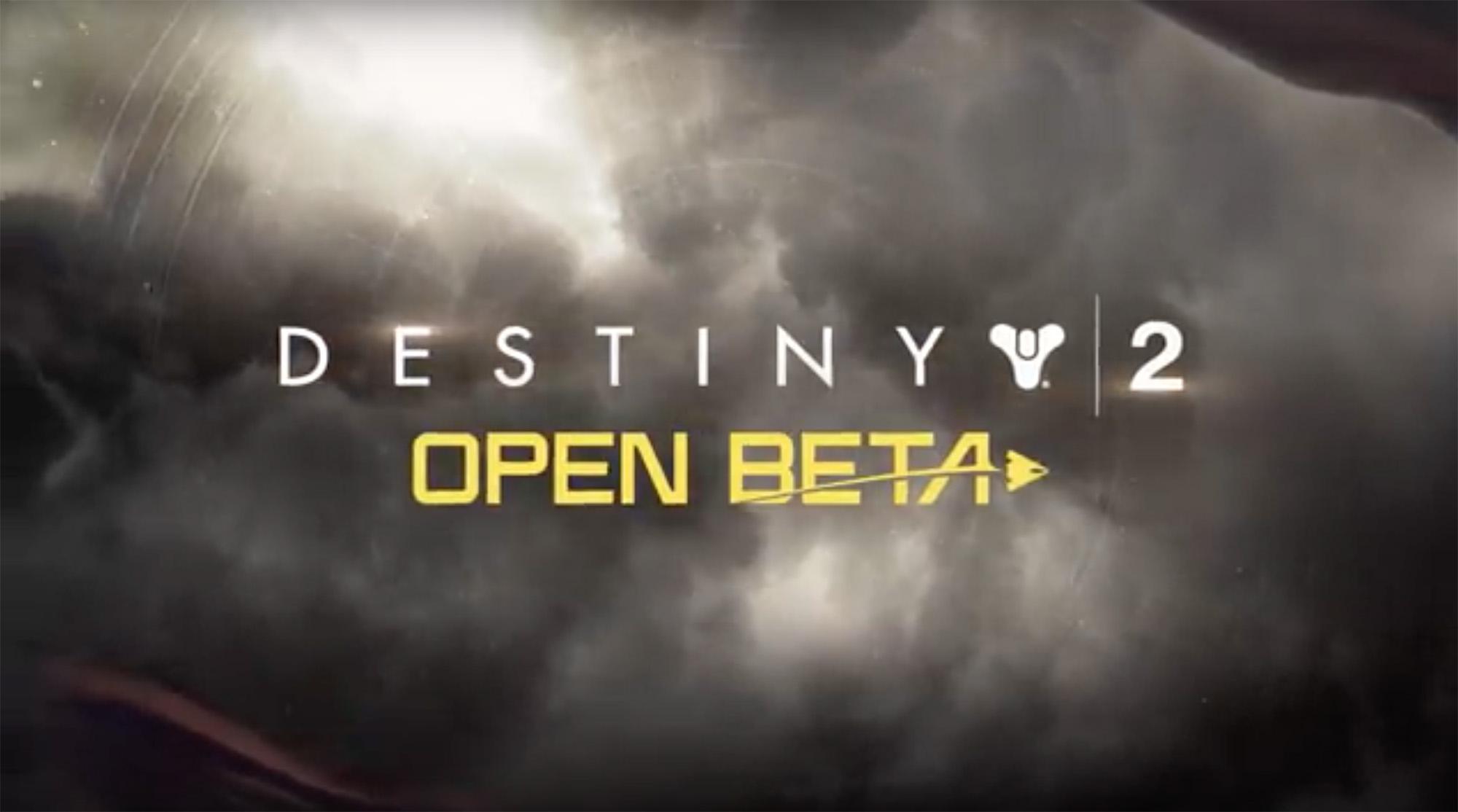 Destiny 2-betaen er åpen for alle konsollspillere - PC får en separat beta senere.