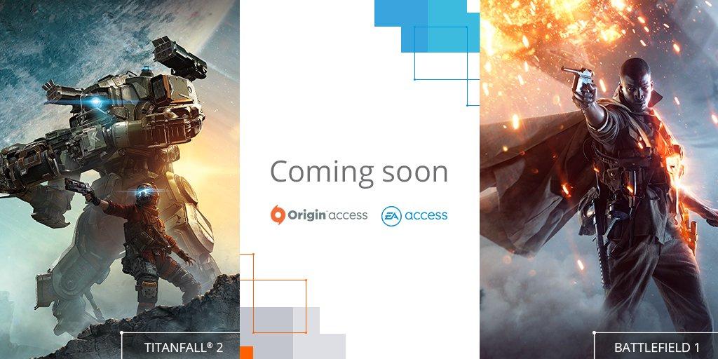 EA Access og Origin Access får besøk av storspill utover sommeren og høsten.