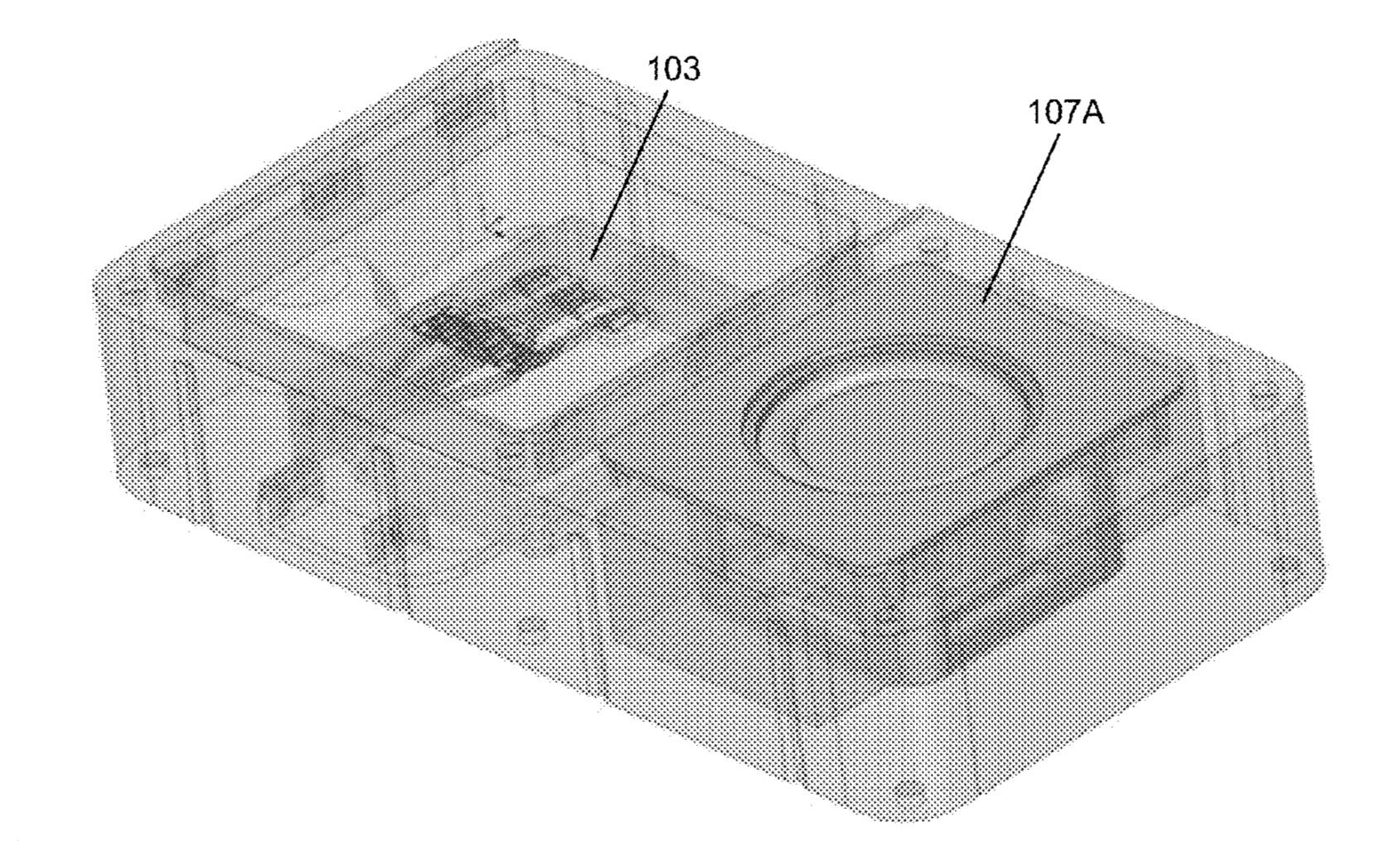Slik kan en modulær telefon fra Facebook se ut, i følge skissene deres i en nypublisert patentsøknad.
