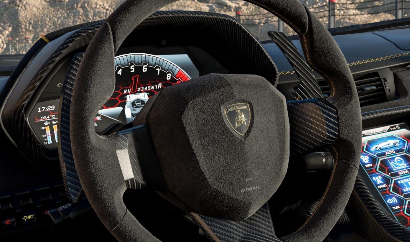 Lamborghini Centenario ser utrolig ut i Forza 7.