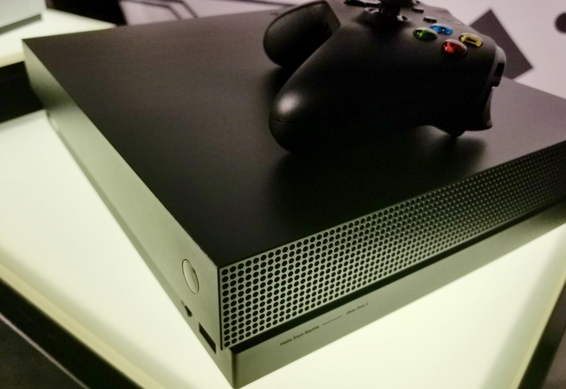 Xbox One X lanseres 7. november i hele verden.