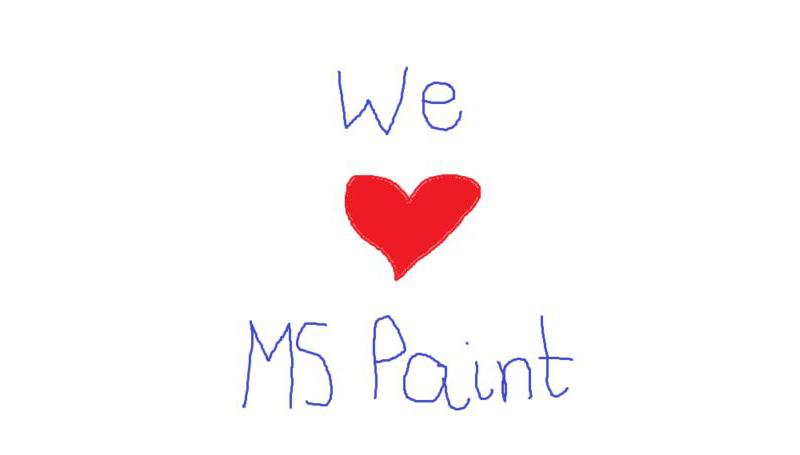 Microsoft bedyrer at de fortsatt er glad i Paint.
