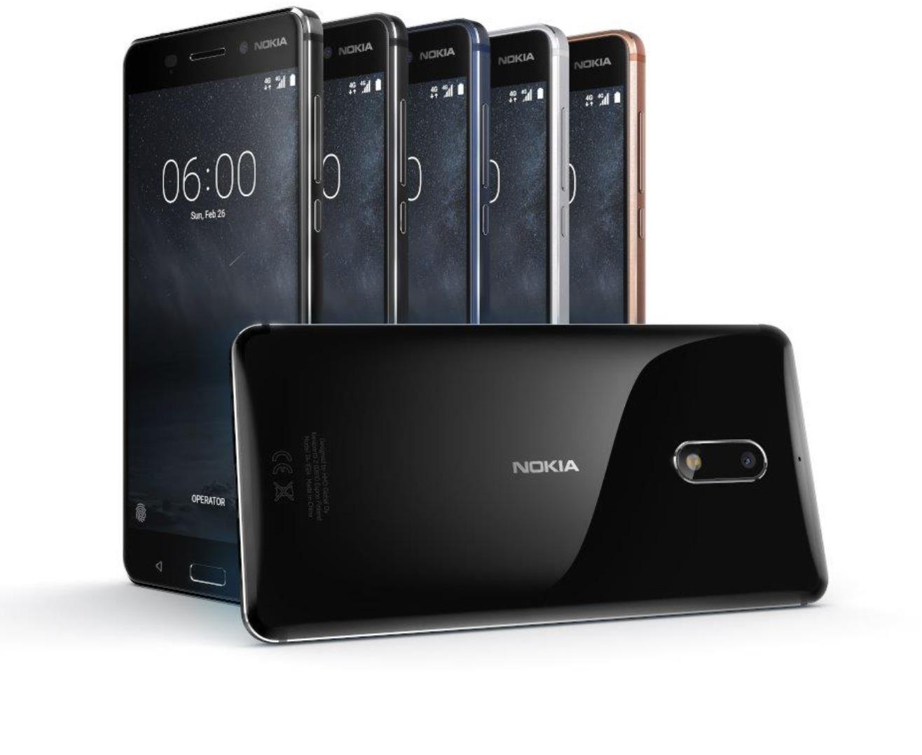 Nokia 6 får storebror, med Snapdragon 835 og 4 GB RAM.