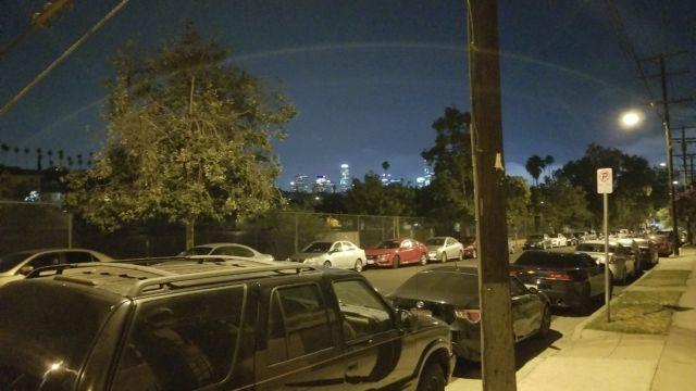 Galaxy S8+ natt.